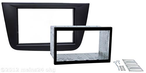 Doppel 2 DIN Einbauset passend für SEAT Altea Toledo