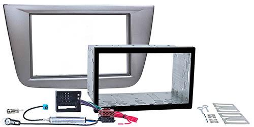 Doppel ISO Einbauset passend für SEAT Altea Toledo