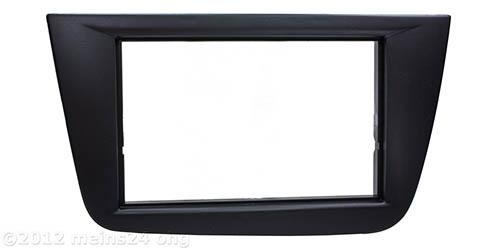 Doppel 2 DIN Radioblende passend für SEAT Altea, Altea XL, Toledo