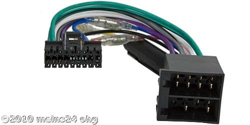 Anschlusskabel passend für SONY Autoradio 18pol. 28x10mm
