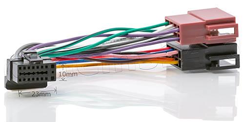 Anschlusskabel passend für SONY Autoradio 16pol. 22x10mm MDX XAV MEX