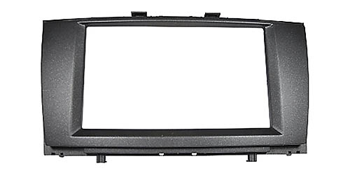 Doppel 2 DIN Radioblende passend für TOYOTA Avensis T27