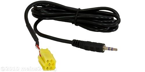 AUX-IN Adapter auf Klinke für SMART und ALFA ab Bj.2007