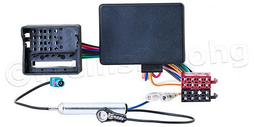 Radioadapter mit CAN-Bus Interface passend für AUDI VW SEAT SKODA OPEL