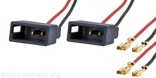 Lautsprecheradapter passend für CITROEN C1 PEUGEOT 107