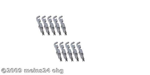 MINI-ISO PINs für MINI-ISO Buchse