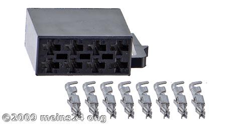 ISO Strom Buchsengehäuse inkl. 8 St. ISO PINs