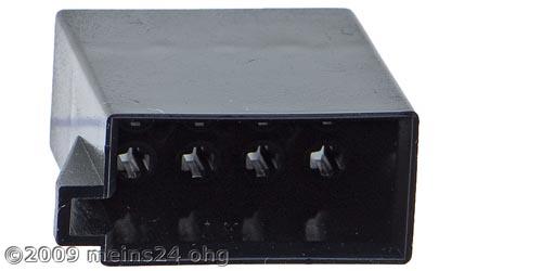 ISO Strom Steckergehäuse