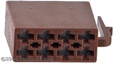 ISO Lautsprecher Buchsengehäuse