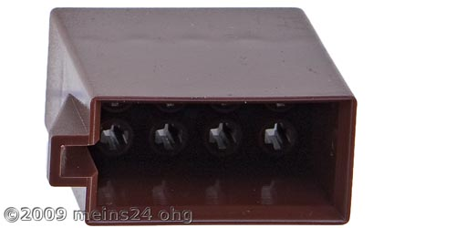 ISO Lautsprecher Steckergehäuse