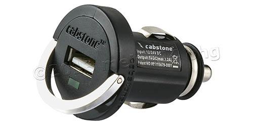 USB Lade-Adapter - Zigarettenanzünderstecker - 12V / 24V (1200mA)