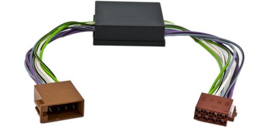Aktivsystemadapter ISO passend für MERCEDES